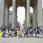 A Milano il via alla Rainbow Ride. Con l'assessore alle Politiche Sociali, Gabriele Rabaiotti